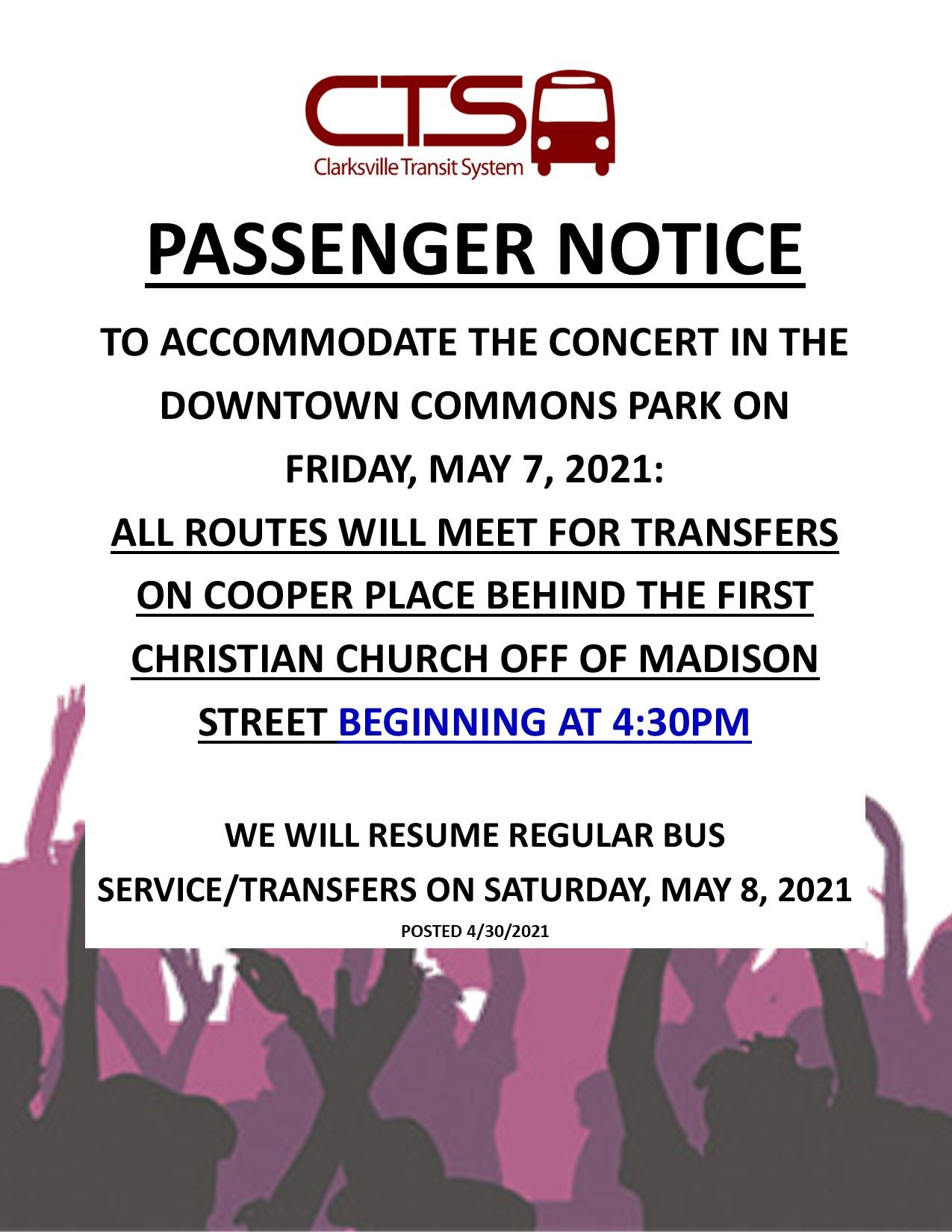 ALTERNATE STAGING MAY 2021 PASS